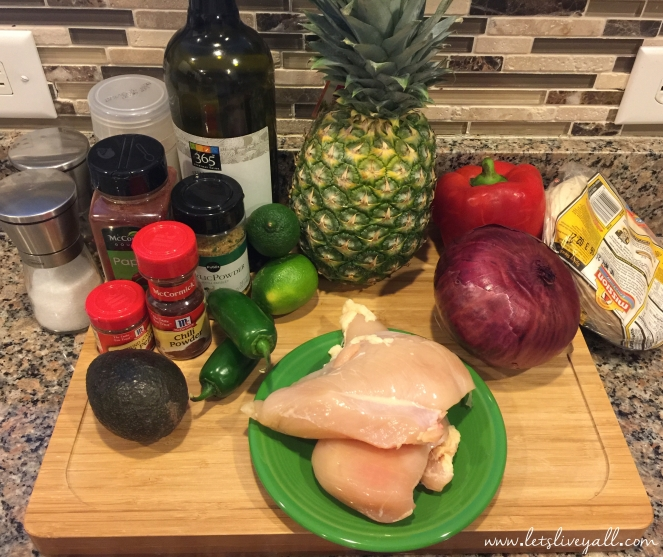 Lets Live Yall Chicken taco ingredients.jpg