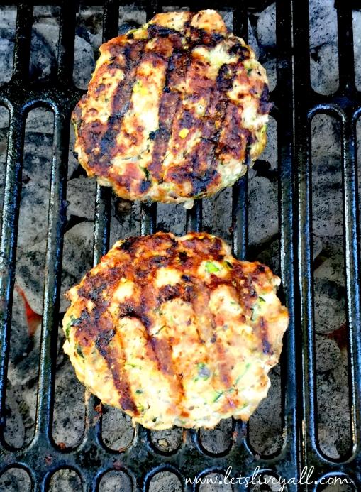 Lets Live Yall turkey Burger Grilling.jpg