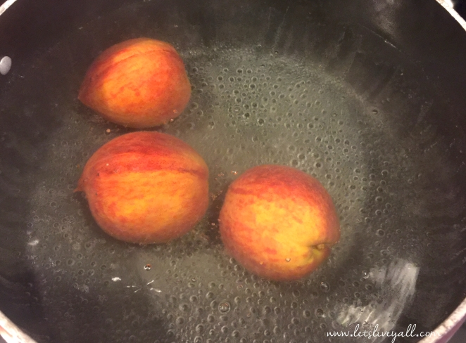 Lets Live Yall cobbler peaches boiling.jpg