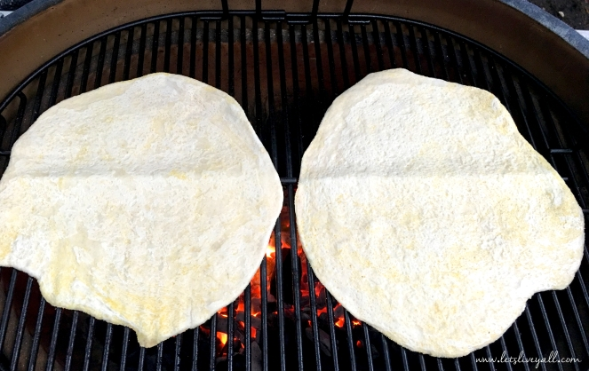 Lets Live Yall Pizza dough grilling.jpg